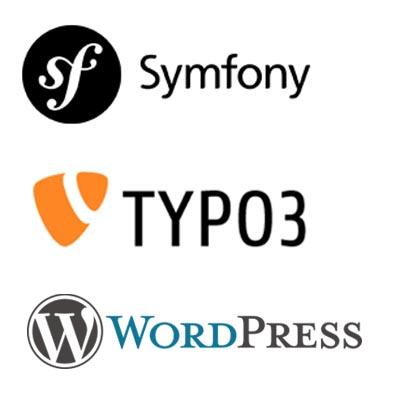 symfony typo3 wordpress