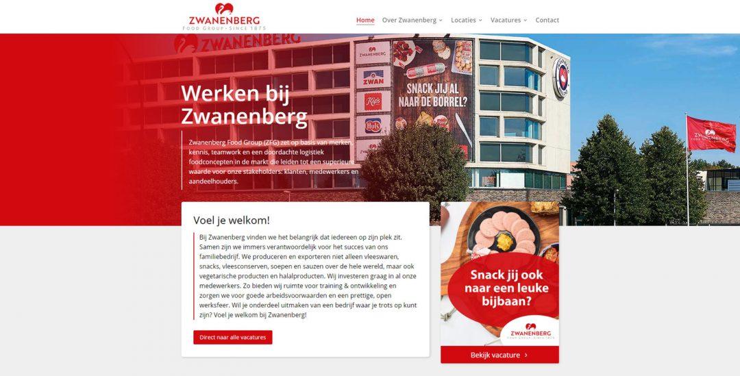 Vacaturewebsite op basis van WordPress met maatwerk uitbreidingen