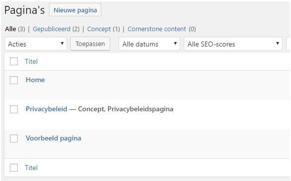 wordpress-handleiding-pagina-opbouw